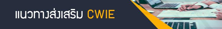 แนวทางส่งเสริม CWIE